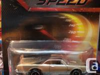 Hot wheels movie cars, $10 each all mint in package.