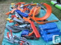 A whole bunch of once costly Hot Wheels stuff
