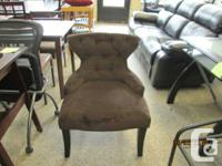 Brand new Hourglass shaped accent chairs brand new only