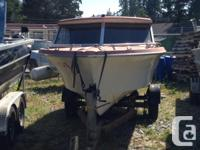 On trailer. Ready to use. Not in salt water for the
