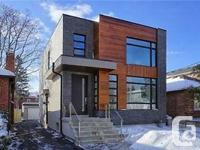 Executive Modern Designer Home W/ Approx. 3000 Sq Ft Of