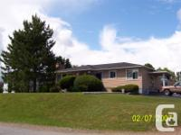 House located at 1285 Victoria Ave, Bathurst NB. Just