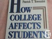 How College Affects Students by Ernest T. Pascarella