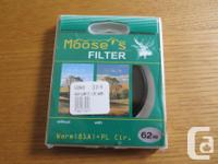 Hoya Moose's filter warm (81A) 62 mm circular