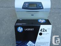 We are selling an excellent condition HP 4250 Network