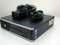 Used, Ultra Slim Desktop Intel Core 2 Duo E8400 vPro 2 x 3 for sale  Quebec