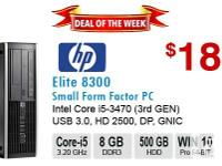 DESCRIPTION Make/Model: HP Compaq Elite 8300 SFF
