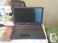 hp notebook with amd dual-core processor E1-2100 1.0