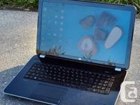 "This HP Pavilion 17"" Laptop computer in brand"