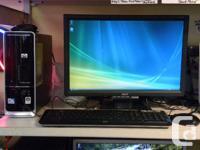 HP Pavillion Slim line 500GB with keybourd 2 mice
