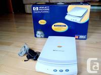 HP Scanjet 4200Cse Colour Scanner - Works Great and in