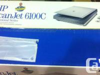 HP ScanJet 6100C scanner for sale. Like new condition,