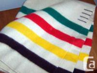 Selling our King-sized Hudson Bay Blanket. It's is