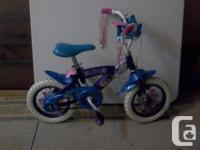 "In mint condition! Huffy Disney Fairies 12"" bike."