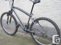 Huffy - Rival with front suspension and 26 inch tires