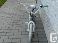 I have a 5 year old bike for young girls for sale. The