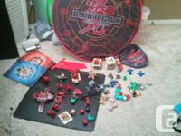 I have a lot of bakugan collected over the years and