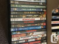 Selling a huge DVD lot. Approximately 150 dvds plus