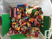 Huge Box of Lego. My children have had many hours of