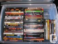 Huge lot of 227 different movies. All original and a