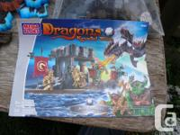 For sale a Huge Lot of Mega Blocks and Dragons, Many