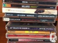 I am liquidating my music collection. Metal, Jazz,