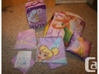 Full bedroom collection of Tinkerbell stuff for your