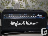 "Mint Shape Hughes & Kettner ""Attax 100"" head"