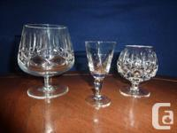 8 piece Cross & Olive sets of sherry glasses ($80.) and