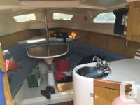 A truly capacious 26 ft boat with water ballast and