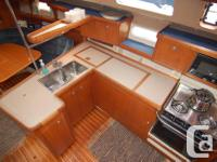 This Hunter 376 is a very popular model that suits the