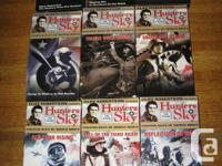 Complete set of 9 VHS tapes from the Hunters in the Sky