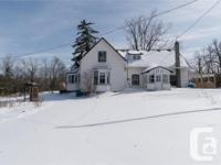 � Fully detached, 3 bedroom home � Located on 1 acre in