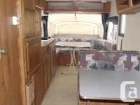 This is a 1999 quality Trail-Lite Bantam Camper in mint