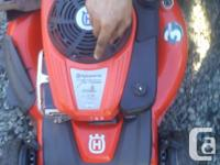 Husqvarna All-Wheel Drive lawnmower. Model # HU775AWD