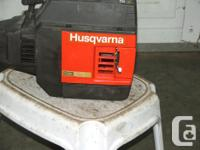 Husqvarna Grass Trimmer for Sale - Gas Has a curved