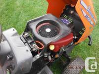 "Husqvarna lawn tractor YTH2046 20hp, 46"" cut,"