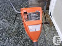 Husqvarna 5 HP self propelled garden tiller. I