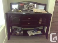 $500 Hutch and Buffet can be used as dresser and hold