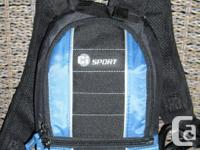 Hydration pack, never used. Mini pack with 1.5 Litre