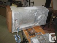 Propane forced air furnace, automatic lighting,