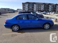 Make Hyundai Model Elantra Year 2004 Colour Blue kms