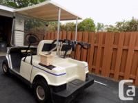 Hyundai Gas Golf Cart in good running condition. In