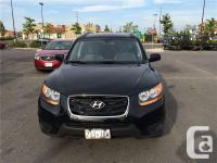 Make Hyundai Model Santa Fe Year 2011 Colour Black kms