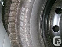 Set of four (4) 2007 Hyundai Santa Fe steel rims & &