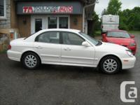 Make Hyundai Model Sonata Year 2003 Colour WHITE kms