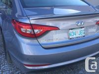 Make Hyundai Model Sonata Year 2015 Colour Silver kms