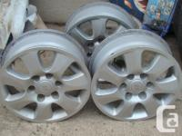 Selling Very sturdy Silver steel rims in Excellent
