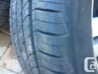 Set of used Cooper CS4 Touring Summer Tires 235/60/R16