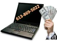 Get instant CASH $$$ for your broken or used laptops for sale  Ontario